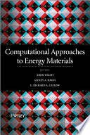 Computational Approaches To Energy Materials Book PDF