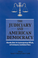 Judiciary and American Democracy, The