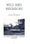 Wild Bird Neighbors Book
