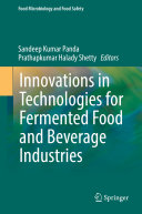 Pdf Innovations in Technologies for Fermented Food and Beverage Industries Telecharger