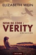 Nom de code : Verity ebook