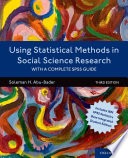 Using Statistical Methods in Social Science Research