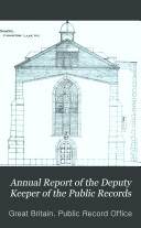 Pdf Annual Report of the Deputy Keeper of the Public Records
