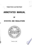 Annotated Manual of Statutes and Regulations Book