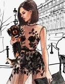 Oscar de la Renta Sheer Gown at Le Grand Hotel