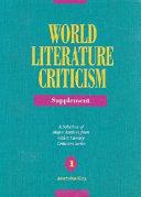 World Literature Criticism