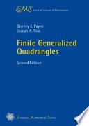 Finite Generalized Quadrangles