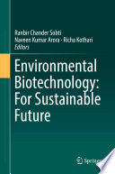 Environmental Biotechnology For Sustainable Future Book PDF