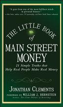 The Little Book of Main Street Money Pdf/ePub eBook