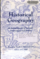 Historical Geography