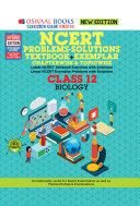 Oswaal NCERT Problems   Solutions  Textbook   Exemplar  Class 12 Biology Book  For 2021 Exam