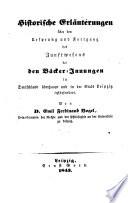 Beiträge zur Geschichte der Zunft- und Innungs-Verfassung beim Deutschen Handwerksstande