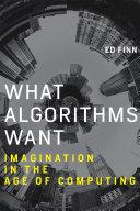 Pdf What Algorithms Want