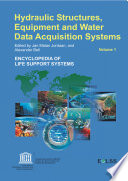 Hydraulic Structure Equipment and Water Data Acquisition Systems   Volume I