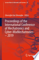 Proceedings of the International Conference of Mechatronics and Cyber MixMechatronics     2019