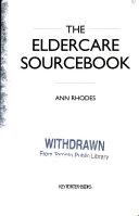 The Eldercare Sourcebook