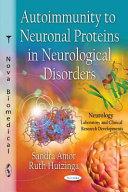 Autoimmunity To Neuronal Proteins In Neurological Disorders Book PDF