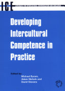 Pdf Developing Intercultural Competence in Practice Telecharger