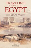 Traveling Through Egypt [Pdf/ePub] eBook
