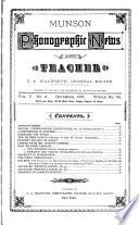 Munson Phonographic News and Teacher