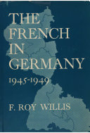 The French in Germany, 1945-1949