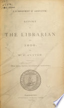 Report Of The Librarian
