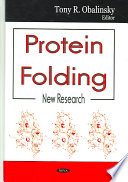Cover image of Protein folding : new research