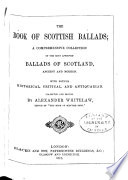 The Book of Scottish Ballads Book