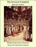 The Satyricon (Complete) Pdf/ePub eBook