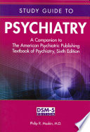 Study Guide to Psychiatry Book