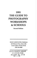 1991 the guide to photography workshops   schools