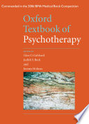 Oxford Textbook Of Psychotherapy Book