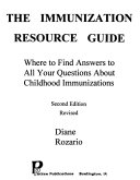 The Immunization Resource Guide Book