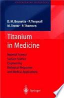 Titanium in Medicine Book