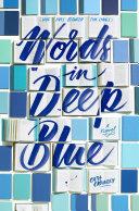 Words in Deep Blue Pdf/ePub eBook