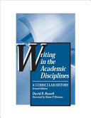 Writing in the Academic Disciplines