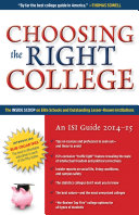 Choosing the Right College 2014–15