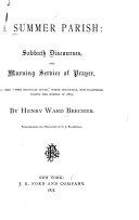 A Summer Parish