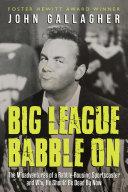 Big League Babble On Pdf/ePub eBook