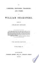 The Comedies Histories Tragedies And Poems Of William Shakspere King Henry Iv Part 1 King Henry Iv Part 2 Henry V King Henry Vi Part 1