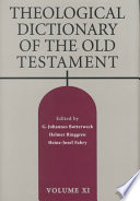 Theological Dictionary of the Old Testament - Google Books