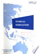 Technical Translations