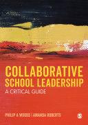 Collaborative School Leadership Pdf/ePub eBook