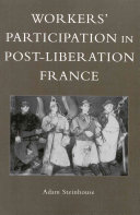 Workers' Participation in Post-liberation France