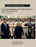El Salvador's Recognition of the People's Republic of China: A Regional Context Pdf/ePub eBook