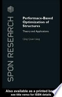 Performance Based Optimization of Structures