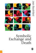 Symbolic Exchange and Death Pdf/ePub eBook