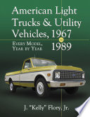 American Light Trucks and Utility Vehicles  1967 1989