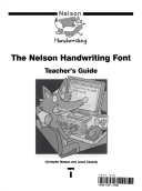 nelson handwriting font teacher 39 s guide peter inglis christalla watson janet cassidy. Black Bedroom Furniture Sets. Home Design Ideas