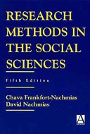 Research Methods in the Social Sciences Book Cover